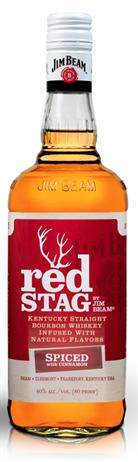 Jim Beam Bourbon Red Stag Spiced Cinnamon